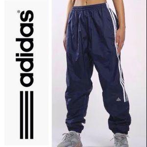 Retro 90's Adidas Windbreaker Track Pants